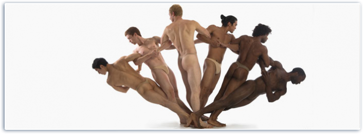 Image: The Pilobolus 'people swatch'