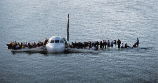 Image: Hudson River (NY) airplane crash