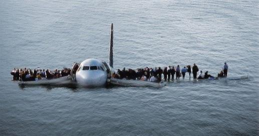 Image: Hudson River (NY) airplane crash