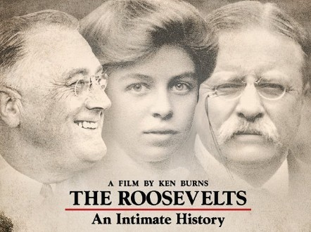 Image: The Roosevelts on PBS (logo)