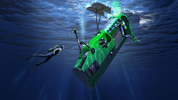 Image: Deepest Dive Submarine