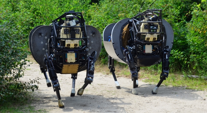 Image: DARPA's new generation of Robotic Dog