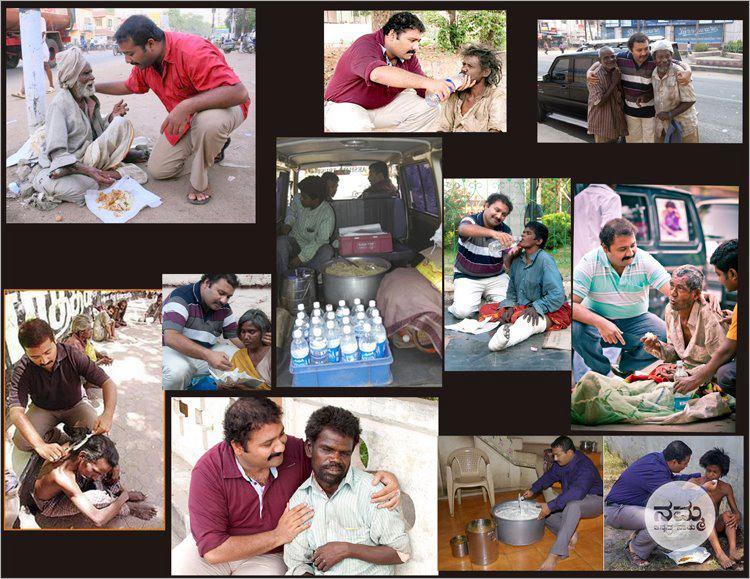 Image: CNN Hero Narayanan, the picture of generosity