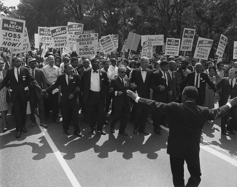 Image: Civil Rights Protest
