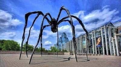 Image: Spider sculpture