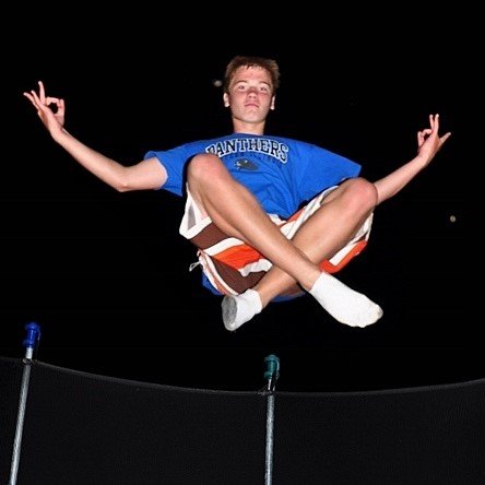 Image: Trampoline levitation