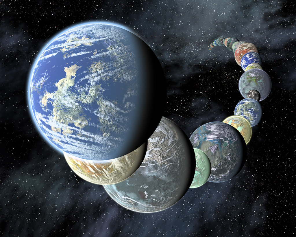 Image: NASA many worls