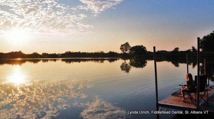 Image: Dr. Lynda's pond