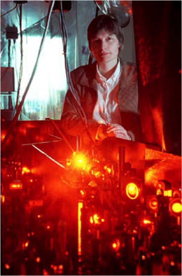 Image: Harvard University professor Lene Vestergaard Hau stopping light