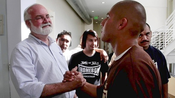 Image: Homeboy Industries and Father Boyle