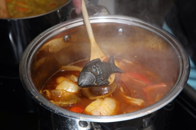 Image: Iron Fish in soup