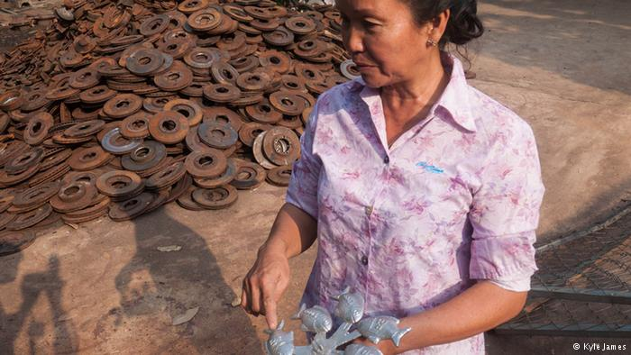 Image: Scrap metal to lucky iron fish