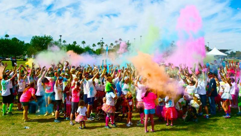Image: St. Jude's Ranch Color Dash