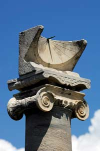 Image: Roman sundial