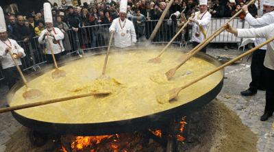 huge omelette