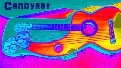 Image: Harp guitar in EWC colors