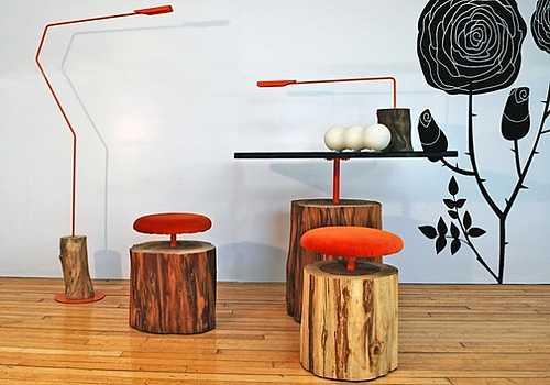 Image: hand made light fixtures