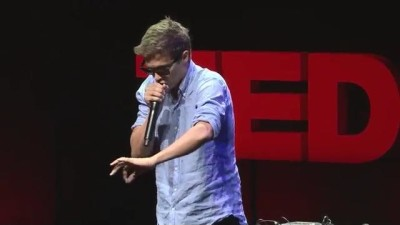 Image: Tom Thum TedX talk beatboxing