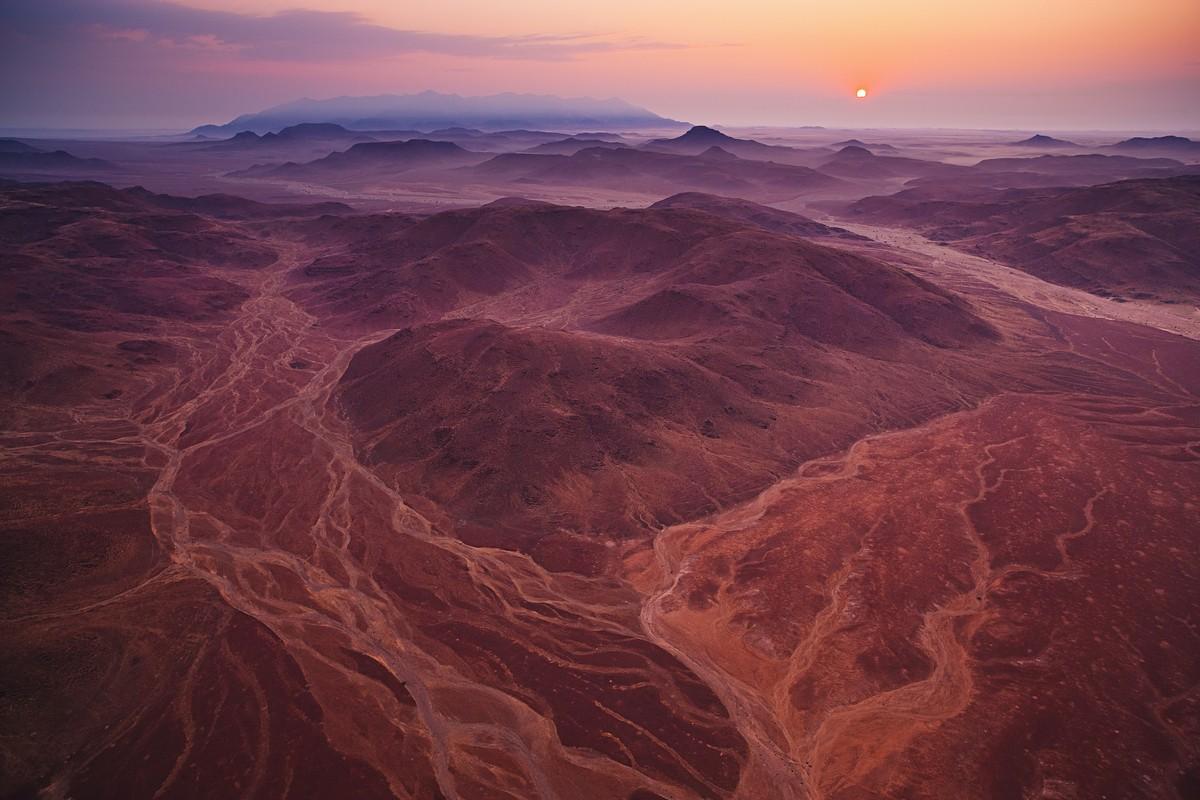 Image: Theo allofs' red desert Namibia