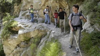 Daniel Kish Hiking