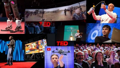 Image: top 10 TED Talks collage