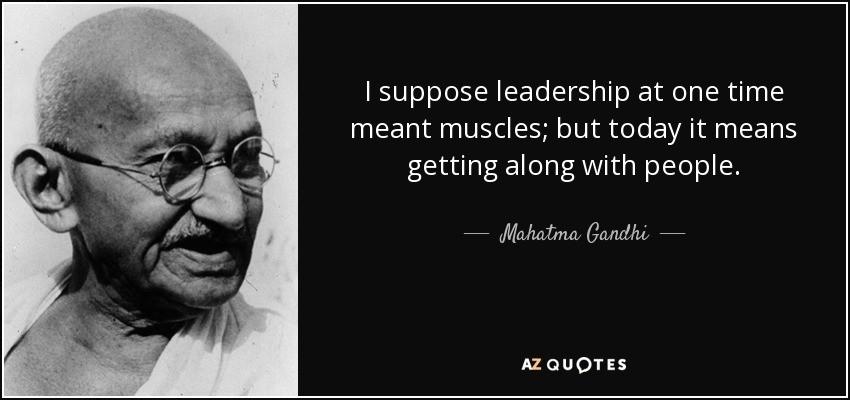 Image: Gandhi on emotional correctness