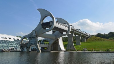 Image: Scotland Falkirk Wheel