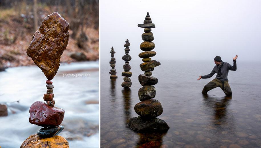 Image: Gravity Glue balancing rocks