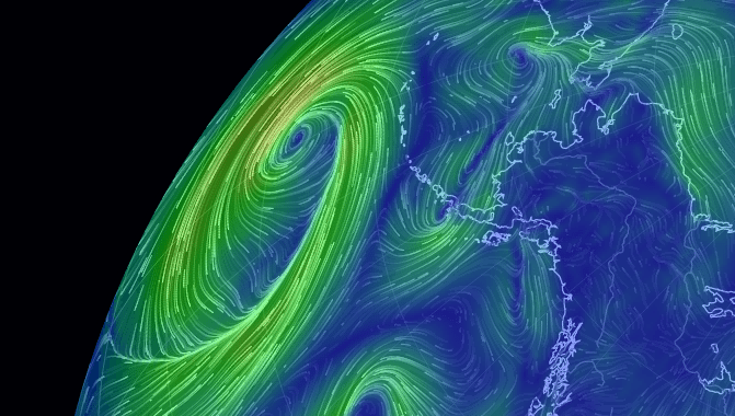 Image: Moving Maps screen shot for wind patterns
