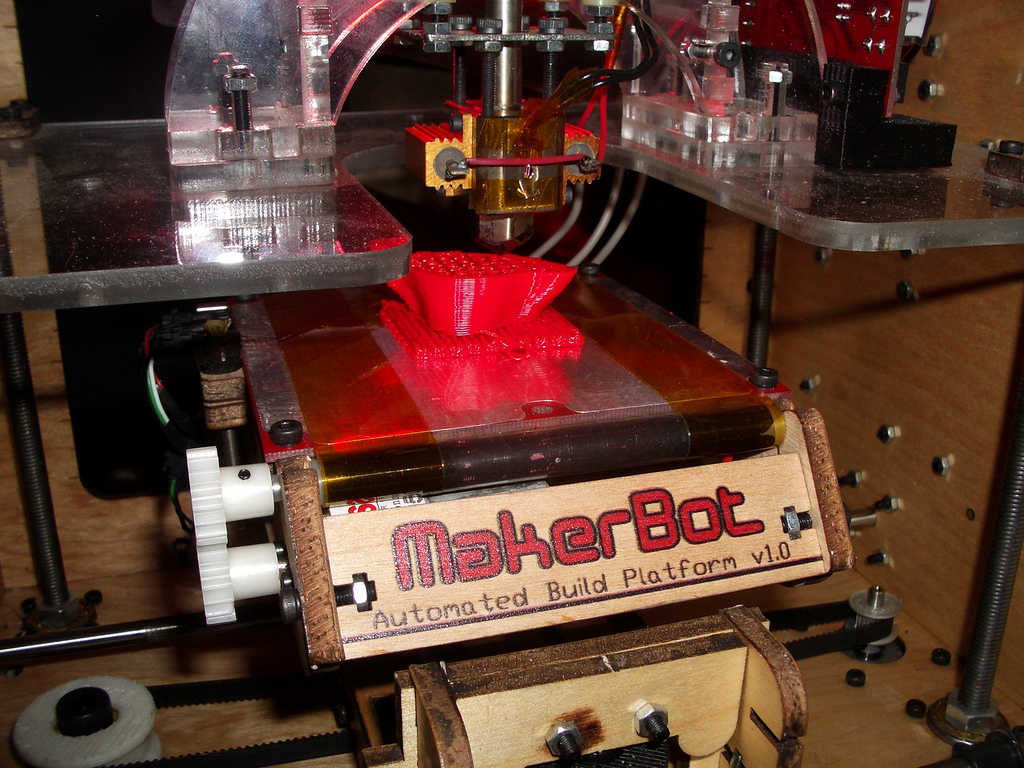 Image: A 3D Printer