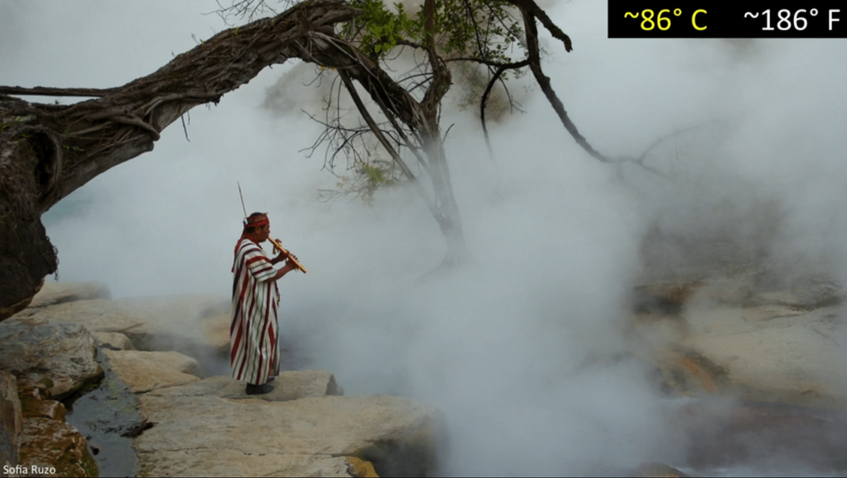 Boiling River in the Amazon