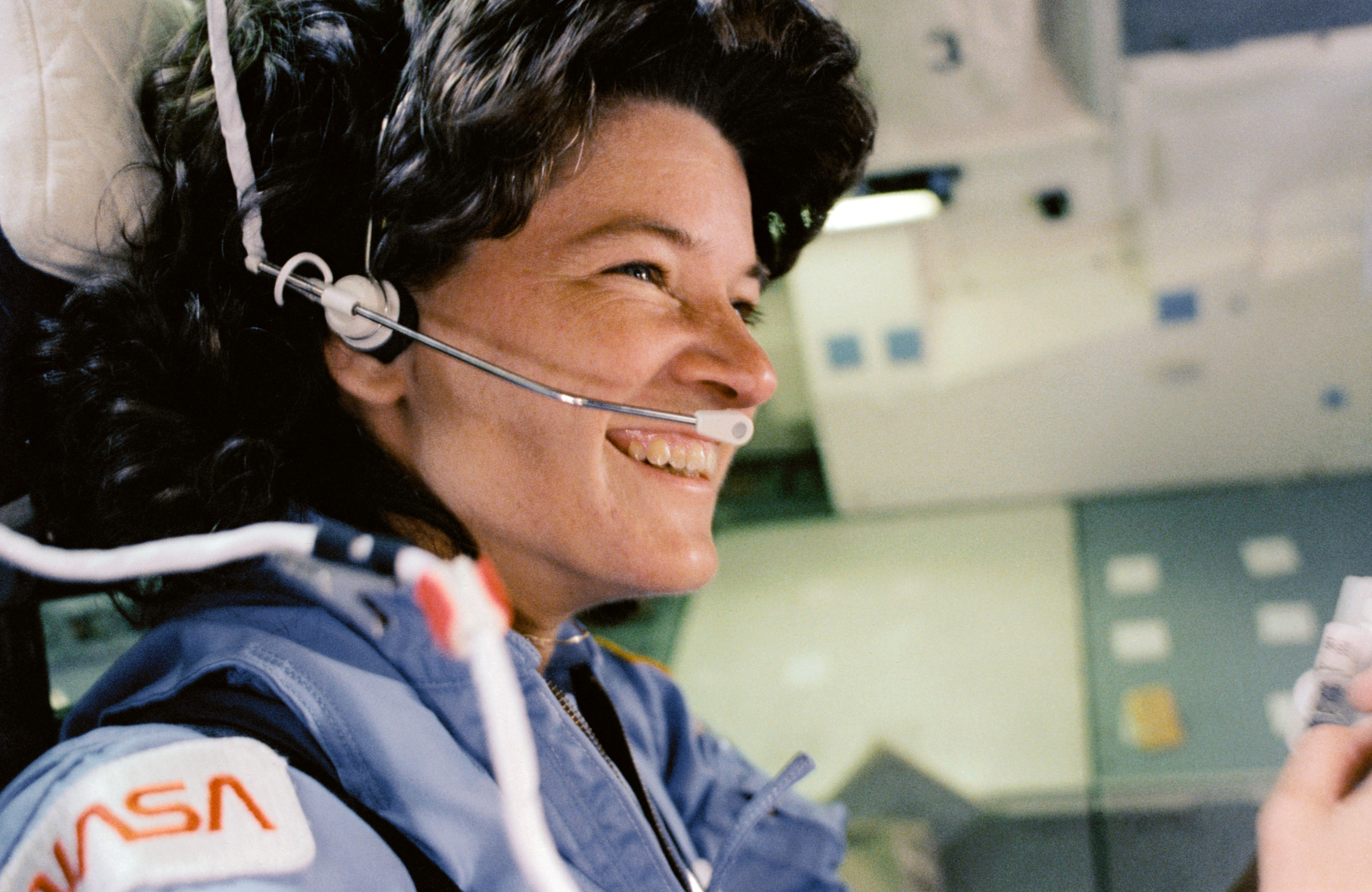 Blank on Blank with Sally Ride: Sally Ride in the Space Shuttle