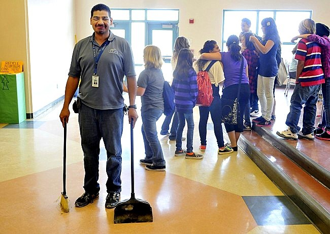 Image Gallery School Janitor