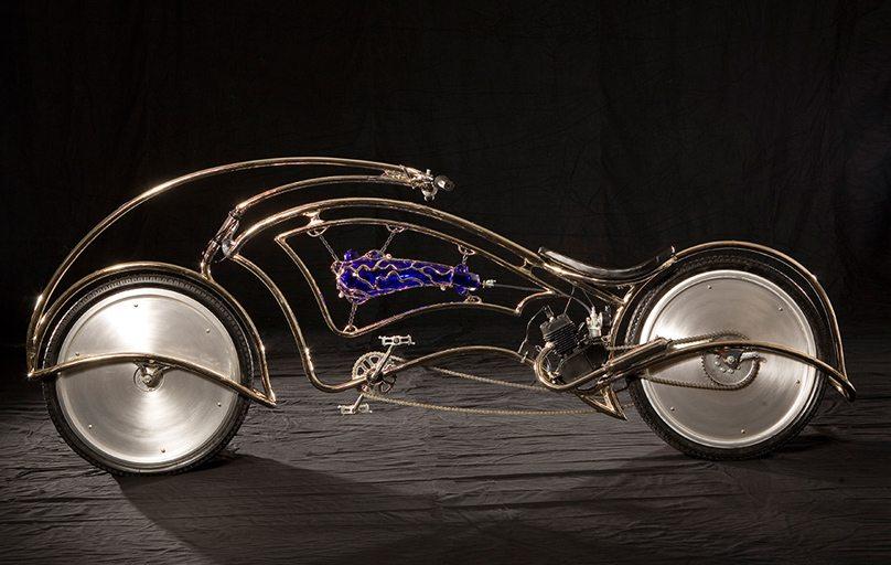 Image: Josh Hadar Er's Teardrop Eco Bike