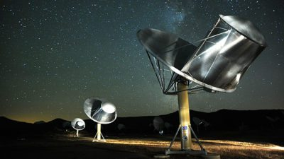 Image: Radio Array of Telescopes at SETI