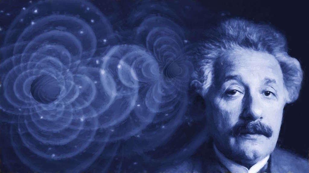 Image: Gravitational waves and Einstein