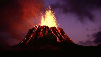 Kilauea volcano 1983