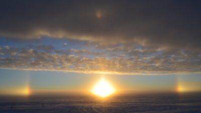 sundog-sunset