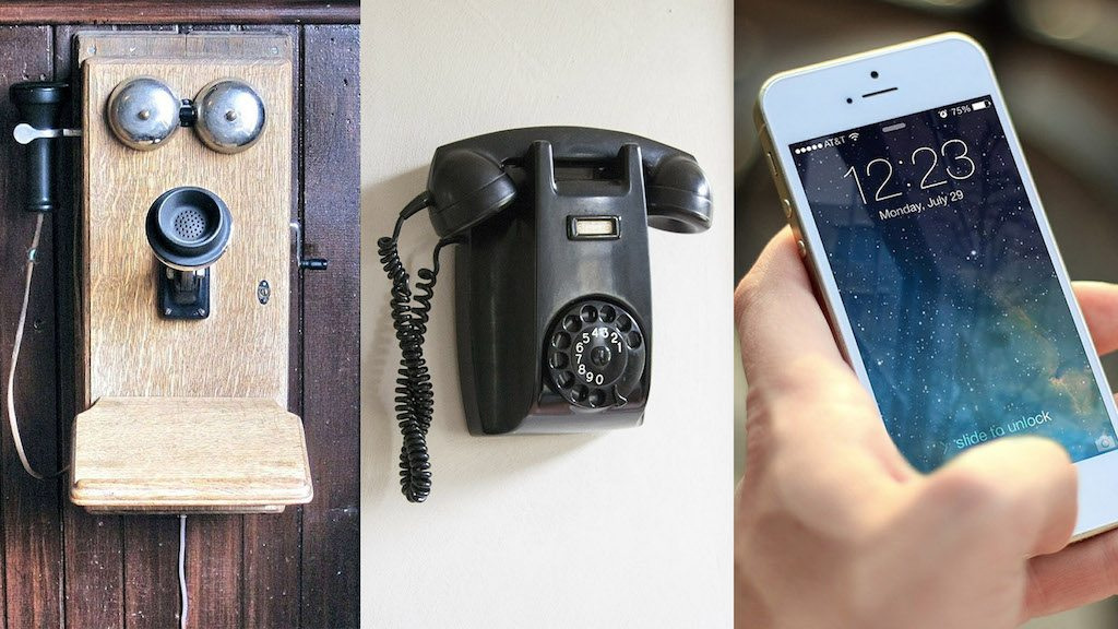 History of phones