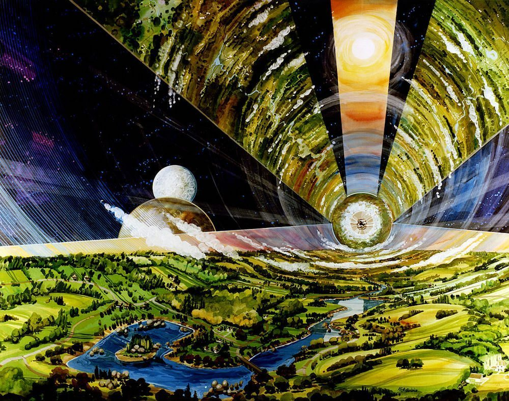 Image: An artist rendition of Lagrange Point 5