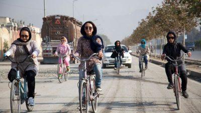 women-bicycling