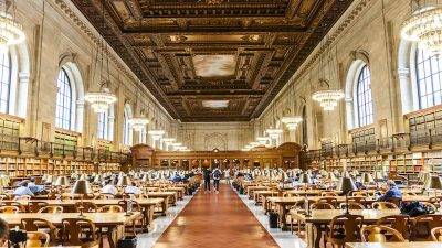 "Image: New York Public Library's ""Human Google"" aka Ask NYPL"