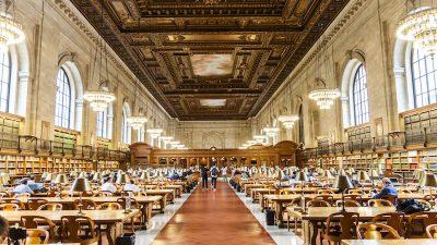 "Image: New York Public Library's ""Human Google"" aka Ask NYPL"