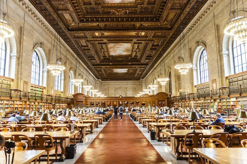 Image: New York Public Library home of Ask NYPL