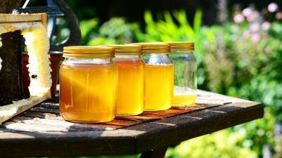 Image: Jars of honey