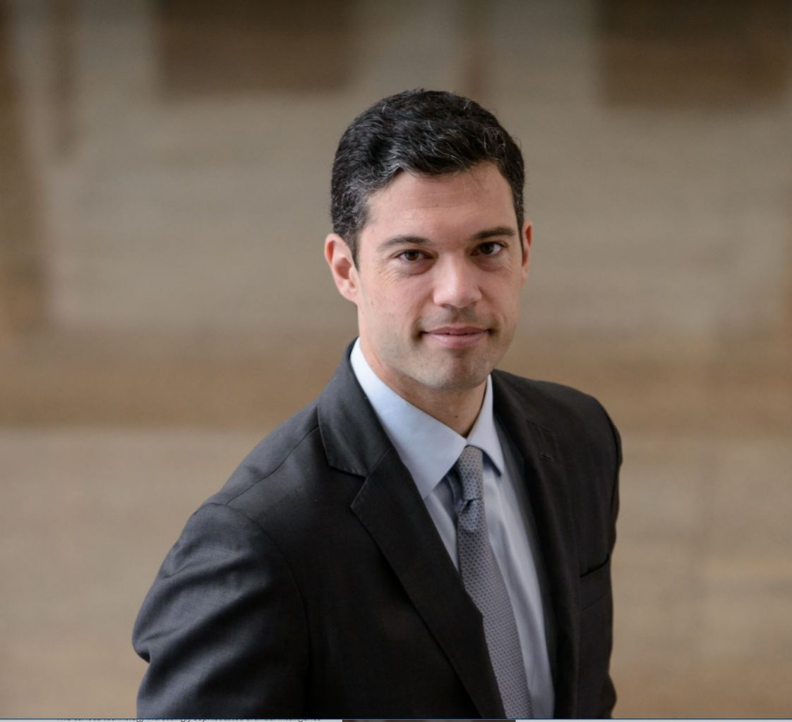 Image: IBM tech executive Guilherme Novaes Procópio de Araújo who's telling us all about these new innovations