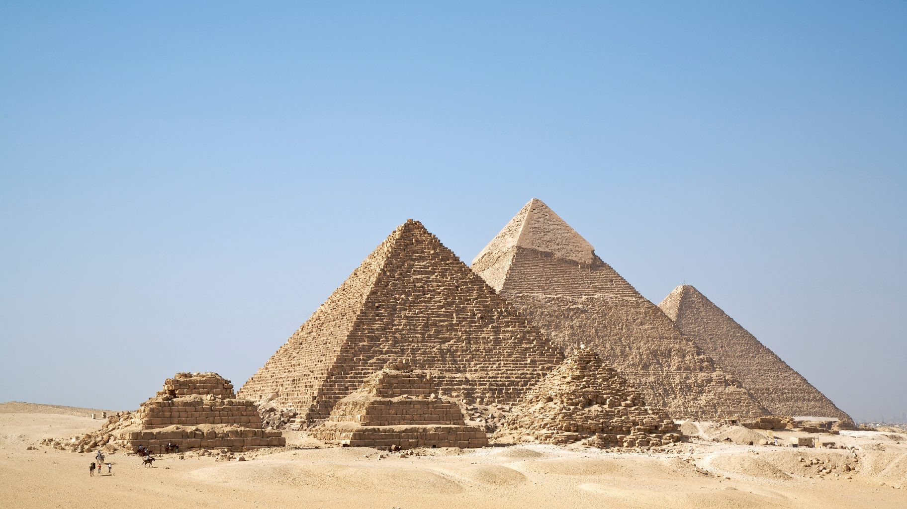 Image: 6 Ancient Giza Pyramids of Egypt built without the use of advanced technology