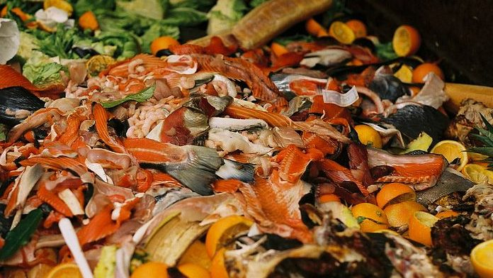 Image: Food waste from a market
