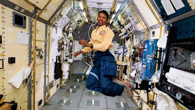 Image: Mae Jemison in Space