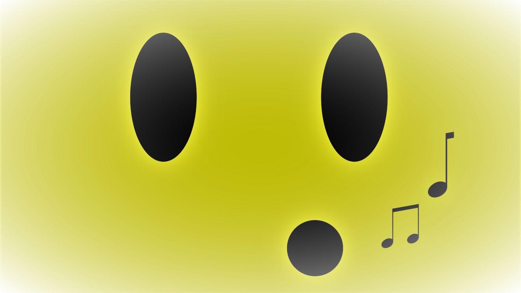Image: Whistling emoji